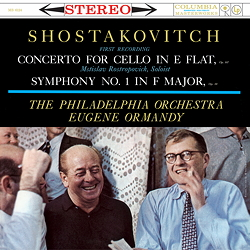 Shostakovitch: Cello Concerto, Symphony No. 1