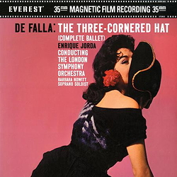 Falla: The Three-Cornered Hat (45rpm-edition)