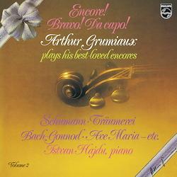 Grumiaux: Encore! Bravo! Da capo!